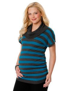 Motherhood Maternity Short Sleeve Dolman Sleeve Maternity Sweater