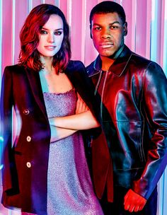 daisy ridley & john Boyega | ASOS magazine | december 2015