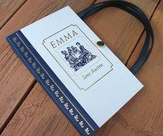 Book Purse Jane Austen Emma Book Handbag Designer by retrograndma, $49.99