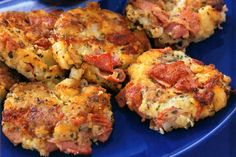 Corned beef hash cakes, I always make these the night after we have corned beef, yum!