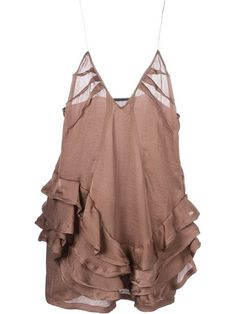 Shop Haider Ackermann frilled cami top in O' from the world's best independent boutiques at farfetch.com. Shop 300 boutiques at one address.