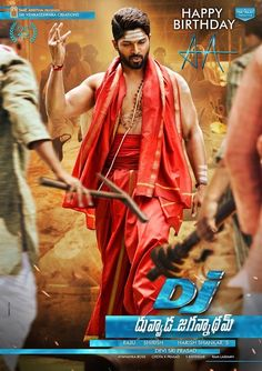 DJ Duvvada Jagannadham (2017) Telugu Full Movie DVDScr 700MB (Clear Audio)