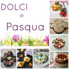 Dolci di Pasqua una raccolta di torte glassate e decorate con ovetti colorati, colombine di frolla glassate, colombe soffici e veloci Ricette Pasqua