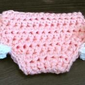 Chunky Diaper Cover - via @Craftsy They're coming back from the 40,s!
