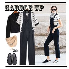 Saddle Up! by paculi on Polyvore featuring AG Adriano Goldschmied, Oryany, saddleup and shein