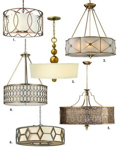 A Light Fixture For Our Parlor   How About Orange · Dinning Room Light  FixtureDrum Light FixtureDining ...