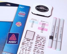 Planner Stickers created by contributor Jennifer Reyes using the Sweet Stamp Shop Plan Everyday stamp set