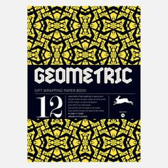 Geometric Wrapping Paper, $14, now featured on Fab. [The Pepin Press]