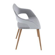 Occo Chair   Four leg chair with oak frame   Desing by jehs+laub  #Wilkhahn   #OCCO