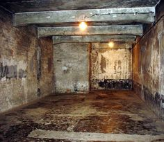 One of the gas chambers at Auschwitz (one of the biggest and well-known concentration camps) used to kill Jews and other people Hitler wanted to get rid of. World History, World War Ii, Plus Jamais, Lest We Forget, Anne Frank, Interesting History, Interesting Facts, American History, Wwii
