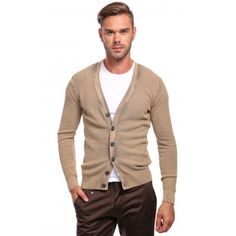Poze Cardigan bej DON London Look