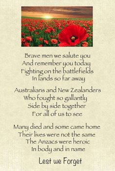 Remembering our soldiers on Anzac Day 2014 - Australia and New Zealand - Poem by Jennifer Bates. History Lessons For Kids, Art Lessons, Anzac Day Quotes, Anzac Day Australia, Soldier Poem, Cursive Letters Fancy, Canada Day Crafts, Australia Crafts, Poppy Craft