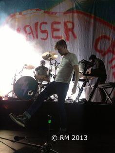 Ricky Wilson (Kaiser Chiefs), Rotterdam, 07-02-2013