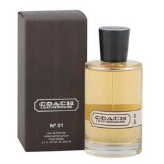 Coach Leatherware N0-01 Eau De Parfum 3.2 Oz/ 95 Ml Spray for Men