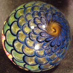 GLASS PAPERWEIGHT FROM ROUTE 66 GLASSWORKS  GALLERY - WHICH HAS MANY BEAUTIFUL PIECES.