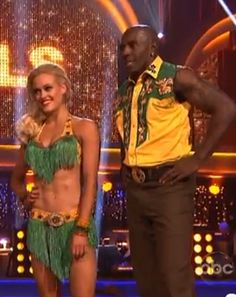 Donald Driver and Peta Murgatroyd Go Country, DWTS Freestyle VIDEO