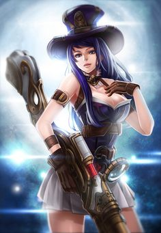 Caitlyn  League of Legends   gathered by http://how2win.pl
