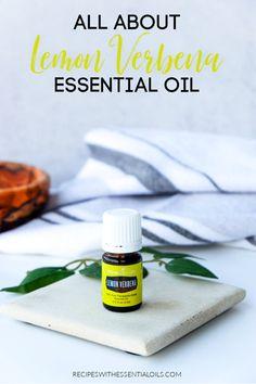 All About Lemon Verbena Essential Oil