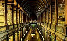 Biblioteca do Trinity College, Irlanda