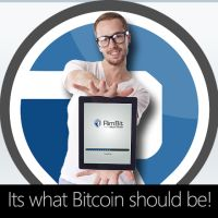 """Now an evolution of """"Bitcoin"""" is here and a new generation of people are adopting it.  It has become revolutionary as it does things, quite unique and thats why we can now introduce you to Rimbit!"""