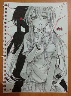 Para dibujar a mi asesina favorita ❤