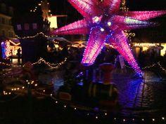 Jättestor julstjärna