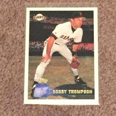 1996 Topps #391 Robby Thompson San Francisco Giants Baseball Card (Sports) NM/M  #sfgiants #SanFranciscoGiants