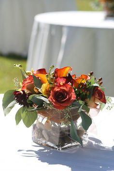 Centerpiece by Weddings by Jennifer, via Flickr