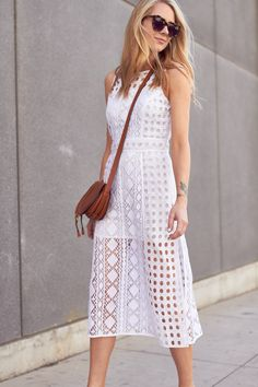 fashion-jackson-olivia-palermo-patchwork-lace-midi-dress-chloe-marci-handbag-karen-walker-number-one-sunglasses @nordstrom