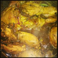 Fricassé de poulet