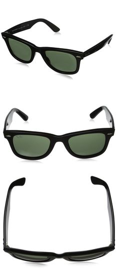 RAY-BAN RB2140 ORIGINAL WAYFARER SUNGLASSES-------------- Colors Available: Black ,Green, Brown---------- Acetate Frame. Acetate is a plant-based plastic known for being lightweight, yet durable. Plastic frame---------- Crystal lens---------- Non-Polarized------------  Best Sunglasses for your face shape----------- Cool,Vintage and Designer----------- Great Sunglasses wearable for men and women during Summer/Spring 2016-----------