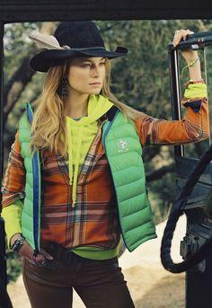 c468df127e684d Cheyenne ranger look - Embark on an adventure this season with our Polo  Ralph Lauren women s Explorer Vest.