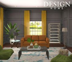 My Home Design, House Design, Outdoor Furniture Sets, Outdoor Decor, House Rooms, Dining Room, Curtains, Home Decor, Board