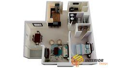 Ấn tượng với phong cách thiết kế chung cư mini