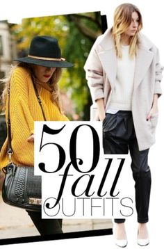 Best Outfit Ideas For Fall And Winter  50 Perfect Fall Outfits To Copy Right Now  Best Outfit Ideas For Fall And Winter 2016/2017 Description 50 Fall Outfits To Copy | StyleCaster. This is a super informative piece on fall clothing.