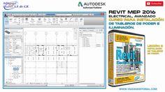 Revit 2016 Mep Electrical Avanzado Curso | Tutorial en Español:  Leccion 8