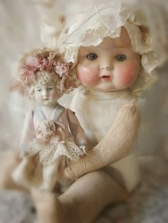 A Kindred Spirit — Antique Dolls | Hello Dolly! | Pinterest)