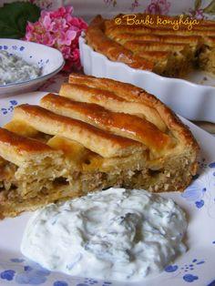 Barbi konyhája: Húsos burgonyás pite