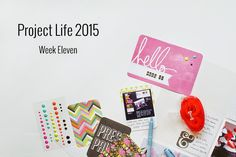 Amca Design: PROJECT LIFE - Year 2015 Week eleven