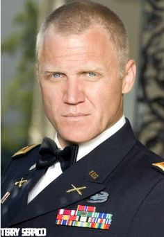 Terry Serpico known as Colonel Sherwood from Army Wives Military Girlfriend, Military Love, Military Spouse, Army Husband, American Wives, Colonel, Catherine Bell, Army Wives, Men In Uniform