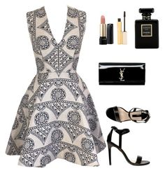 """""""Untitled #212"""" by kellyamber1993 ❤ liked on Polyvore featuring Joana Almagro, Dorothy Perkins, Yves Saint Laurent, Lancôme, Stila and Chanel"""