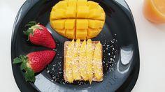 Mango-Coconut Toast!