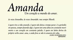 Amanda por João Doederlein