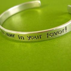 Hunger Games Bracelet May the odds be ever in your favor