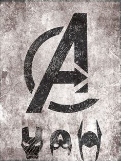 Cool minimalist #Avengers poster