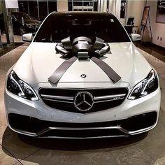 Present Goals! Your next gift, a Benz, tag a friend❤️ #luxgoals