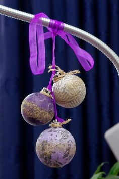 Decopatch kerstballen