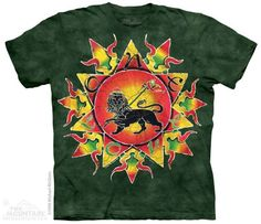 The Mountain Retro T-shirt | One Love Batik, New 2014 Adult T-shirts from The Mountain, 103811