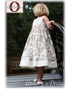 Lindsay's dress pattern for girls by Olabelhe, at www.chadwickheirlooms.com
