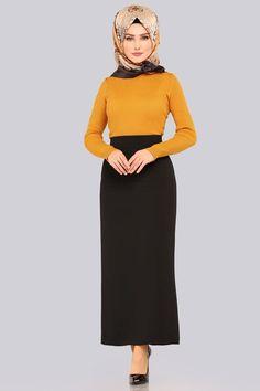 Blouse And Skirt, Dress Skirt, The Dress, High Neck Dress, Culture Clothing, Straight Dress, Hijab Dress, Hijab Fashion, Beautiful Women